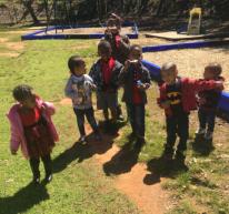 Group of kids outdoor