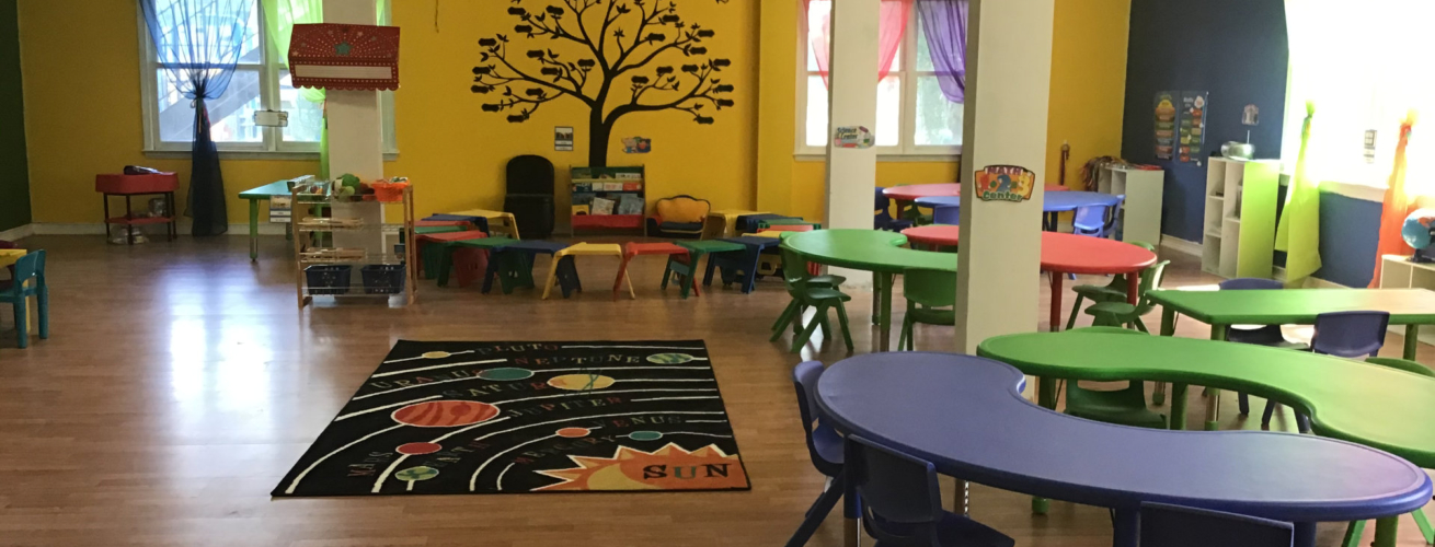 A Step Above Learning Center room